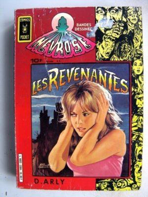NEVROSE (1e série) ALBUM RECUEIL 3304 (n°1-3) Mandragore COMICS POCKET (AREDIT)