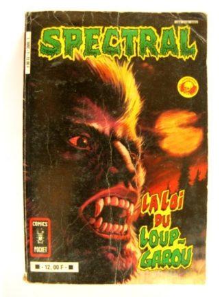 SPECTRAL Album n°1 (22-23) Aredit Comics Pocket 1983