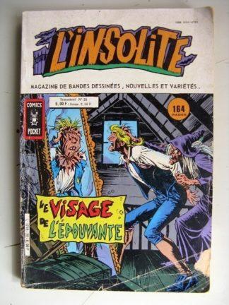 L'INSOLITE (Comics Pocket) n°25 - Le visage de l'épouvante