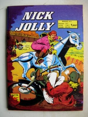 NICK JOLLY n°5 – Les voyoux de Coasthaven – AREDIT 1976