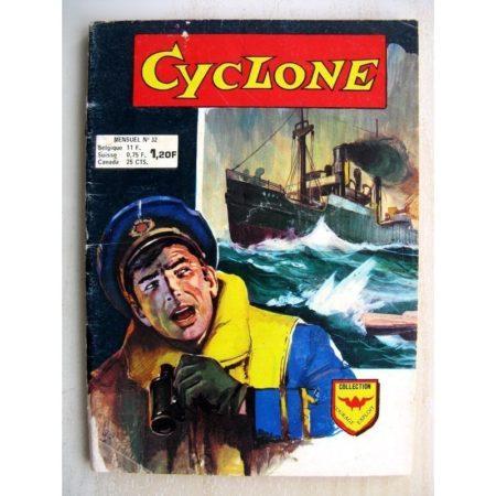 CYCLONE (Courage Exploit) n°32 - Navire dans la tourmente