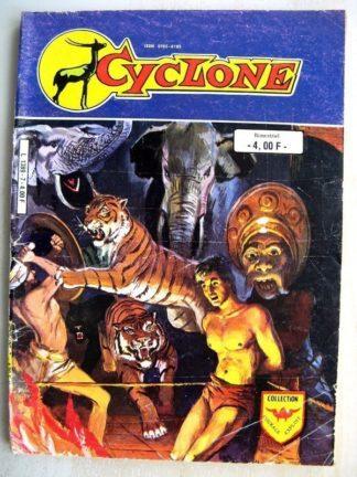 CYCLONE 2e série (Courage Exploit) n°7 - Lutte des Titans