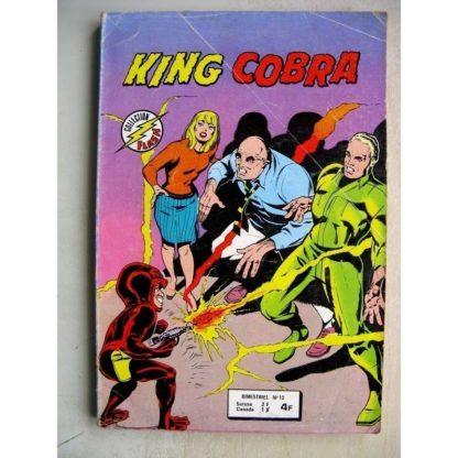 KING COBRA 2e série (AREDIT) n°10 - Contre la Mangouste