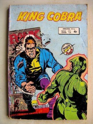 KING COBRA 2e série (AREDIT) n°12 - Contre le roi de la jungle