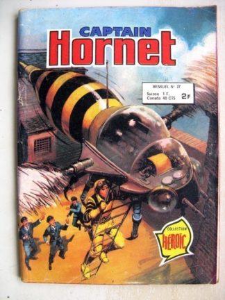 CAPTAIN HORNET N°27 - Missiles téléguidés (Collection Héroïc) Aredit