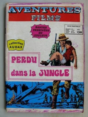 AVENTURES FILMS N°11 – Perdu dans la jungle (Collection Audax) Aredit