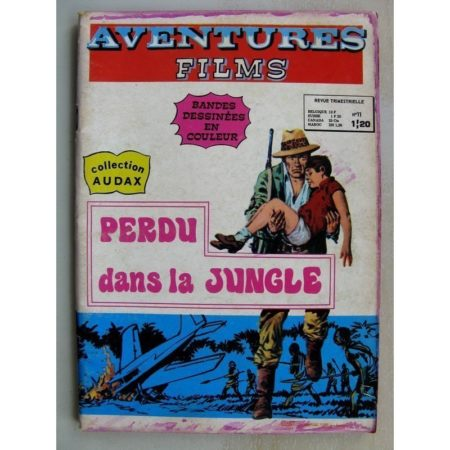 AVENTURES FILMS 1e Série N°11 - Perdu dans la jungle (Collection Audax) Aredit