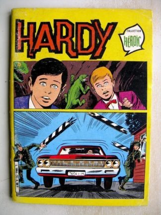 HARDY N°74 - Pour un morceau du monde (COLLECTION HEROIC) Aredit