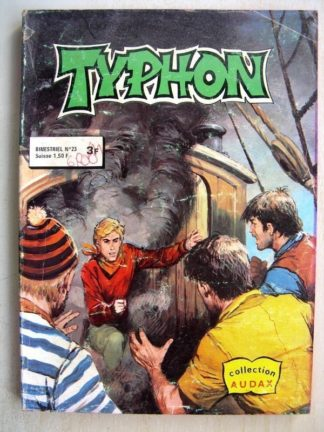 TYPHON N°23 - Alan Calvert contre les pirates (Collection Audax) Aredit