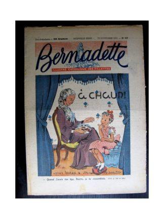 BERNADETTE n°207 (1950) A chaud