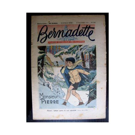 BERNADETTE n°212 (1950) Monsieur Pierre