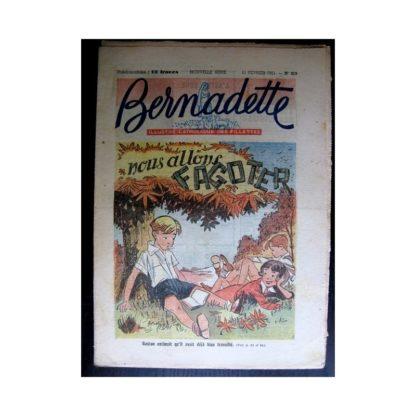 BERNADETTE n°219 (1951) Nous allons fagoter