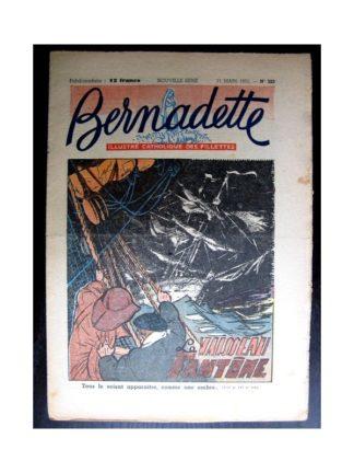 BERNADETTE n°223 (1951) Le vaisseau fantôme