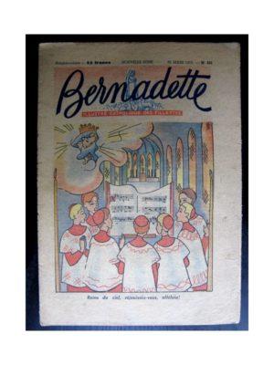 BERNADETTE  n°225 (1951)