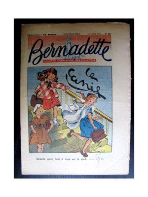 BERNADETTE  n°228 (1951) Le canif
