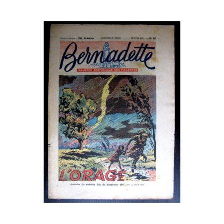 BERNADETTE n°238 (1951) L'orage