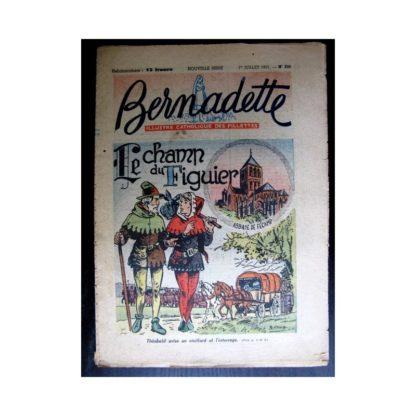 BERNADETTE n°239 (1951) Le champ du figuier