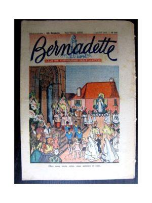 BERNADETTE  n°245 (1951) L'assomption