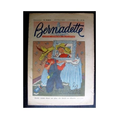 BERNADETTE n°258 (1951) La moustache