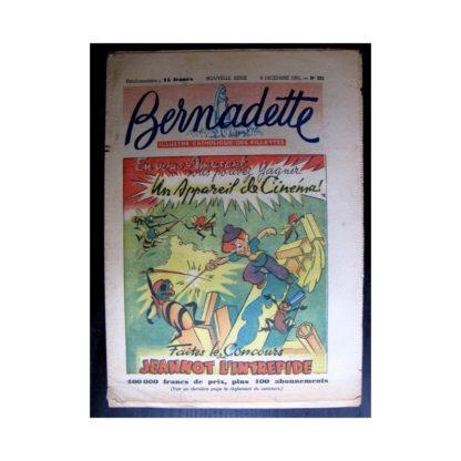 BERNADETTE n°262 (1951) Jeannot l'intrépide
