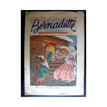 BERNADETTE n°265 (1951) L'étoile sur le sapin