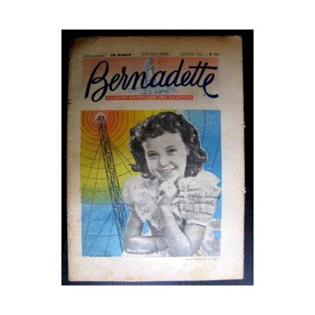 BERNADETTE n°276 (1952) Marie-France