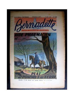 BERNADETTE  n°288 (1952) Aide pharmacien…