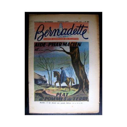 BERNADETTE n°288 (1952) Aide pharmacien...