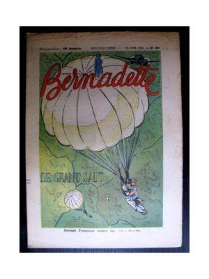 BERNADETTE  n°289 (1952) Le grand saut