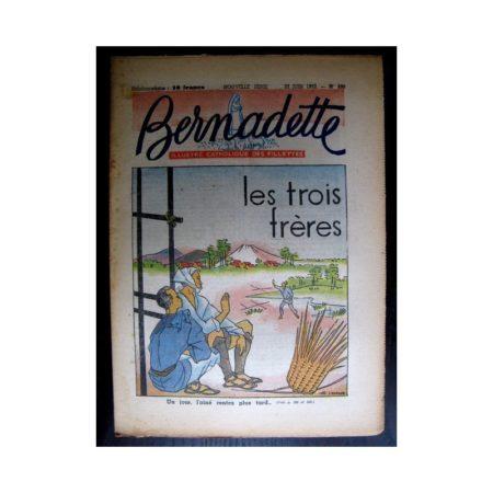 BERNADETTE n°290 (1952) Les trois frères