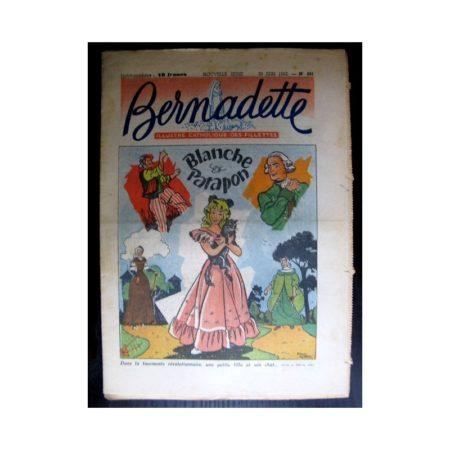 BERNADETTE n°291 (1952) Blanche et Patapon