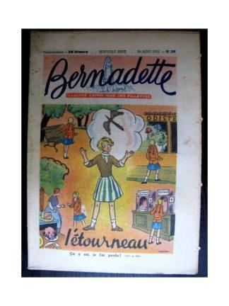 BERNADETTE n°299 (1952) L'étourneau