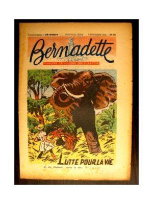 BERNADETTE n°301 (1952) LUTTE POUR LA VIE