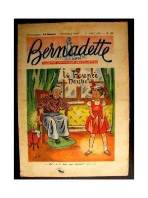 BERNADETTE  n°326 (1953) LA POUPEE NEUVE (Miette et Totoche)