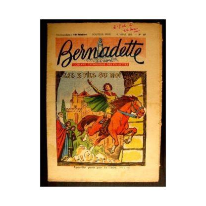 BERNADETTE n°327 (1953) LES 3 FILS DU ROI (Miette et Totoche)