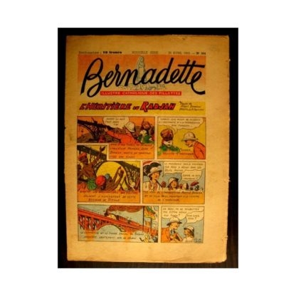 BERNADETTE n°334 (1953) L'HERITIERE DU RADJAH (Miette et Totoche)