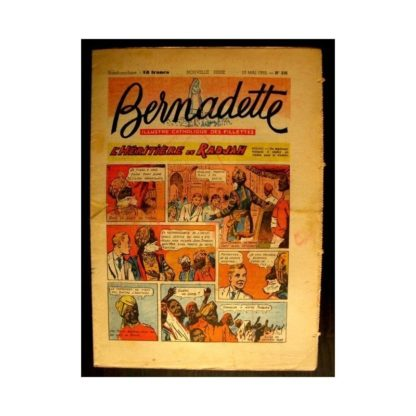 BERNADETTE n°336 (1953) L'HERITIERE DU RADJAH (Miette et Totoche)