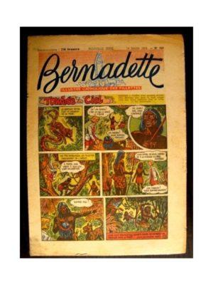 BERNADETTE  n°380 (1954) TOMBEE DU CIEL (Miette et Totoche)
