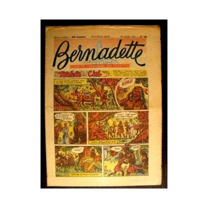 BERNADETTE n°382 (1954) TOMBEE DU CIEL (Miette et Totoche)