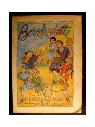 BERNADETTE n°391 (1954) L'ARC EN CIEL (Miette et Totoche)