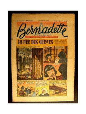 BERNADETTE  n°393 (1954) LA FEE DES GREVES (Miette et Totoche)