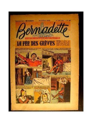 BERNADETTE n°395 (1954) LA FEE DES GREVES (Miette et Totoche)