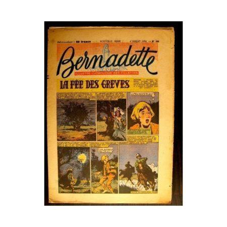 BERNADETTE n°396 (1954) LA FEE DES GREVES (Miette et Totoche)