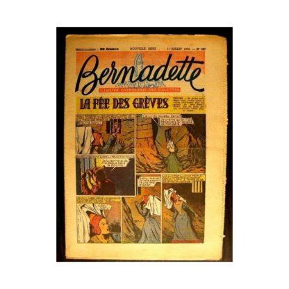 BERNADETTE n°397 (1954) LA FEE DES GREVES (Miette et Totoche)