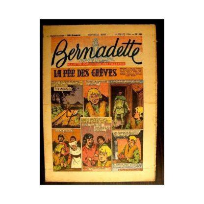 BERNADETTE n°398 (1954) LA FEE DES GREVES (Miette et Totoche)