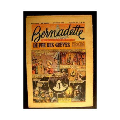 BERNADETTE n°399 (1954) LA FEE DES GREVES (Miette et Totoche)