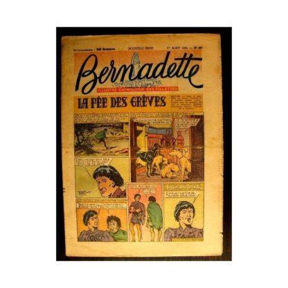 BERNADETTE n°400 (1954) LA FEE DES GREVES (Miette et Totoche)