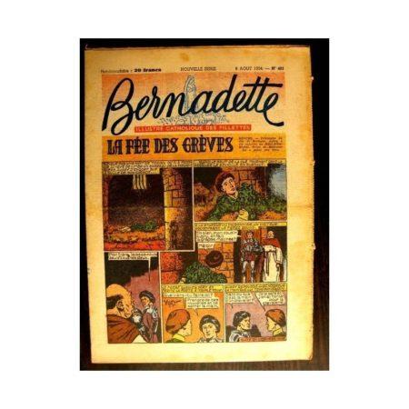 BERNADETTE n°401 (1954) LA FEE DES GREVES (Miette et Totoche)