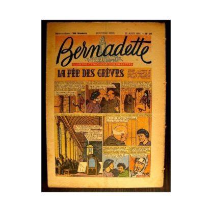 BERNADETTE n°403 (1954) LA FEE DES GREVES (Miette et Totoche)