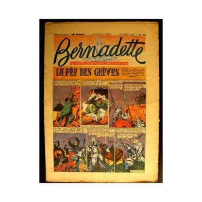 BERNADETTE n°404 (1954) LA FEE DES GREVES (Miette et Totoche)